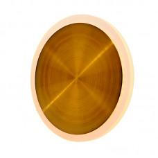 Επιτοίχιο φωτιστικό από αλουμίνιο σε χρυσή ματ απόχρωση (43401-GL)