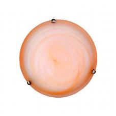 Πλαφονιέρα οροφής από οξυντέ μέταλλο και μελί γυαλί (42154-Α-Οξυντέ)