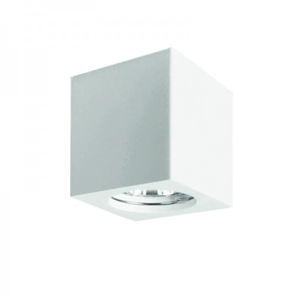 Φωτιστικό οροφής λευκό από γύψο (42165-Λευκό)