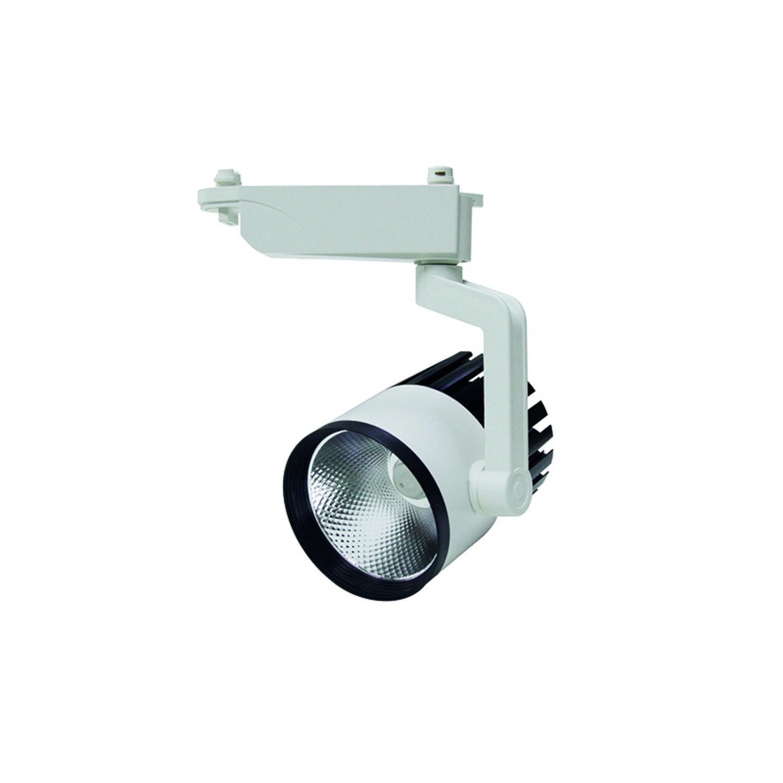 Σποτ Ράγας Λευκό LED 30watt 4000K Φυσικό Λευκό (Τ00102-ΛΕΥΚΟ)