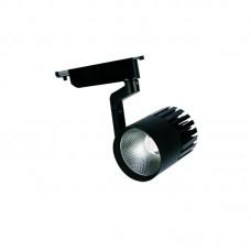 Σποτ Ράγας Μαύρο LED 30watt 3000K Θερμό Λευκό (Τ00101-ΜΑΥΡΟ)