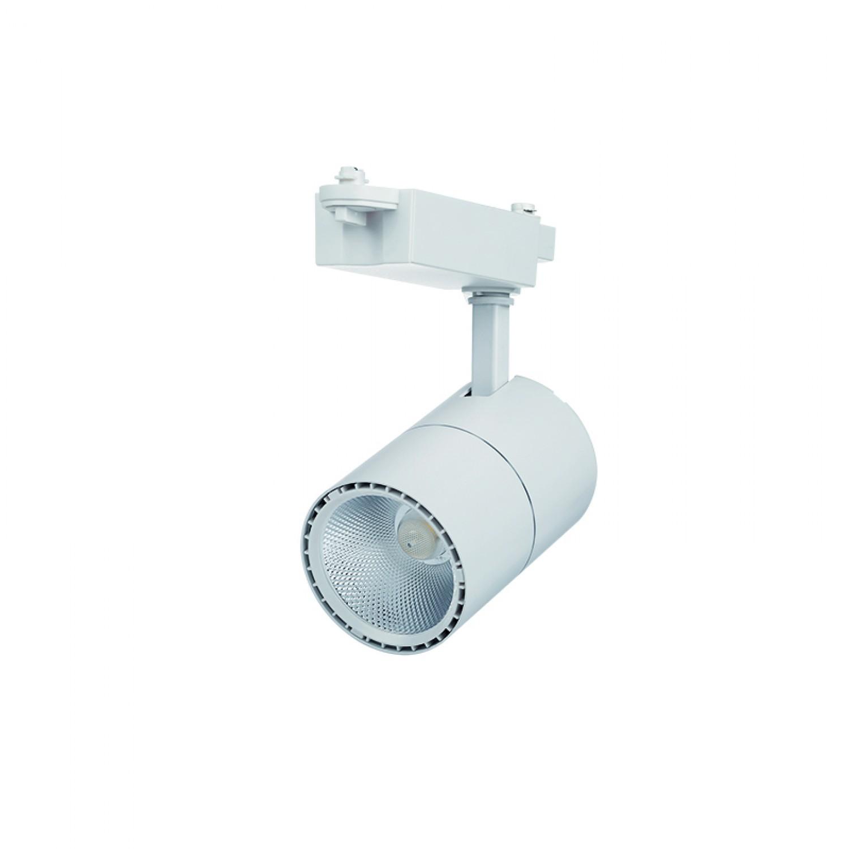 Σποτ Ράγας Λευκό LED 30watt 3000K Θερμό Λευκό (Τ00201-ΛΕΥΚΟ)