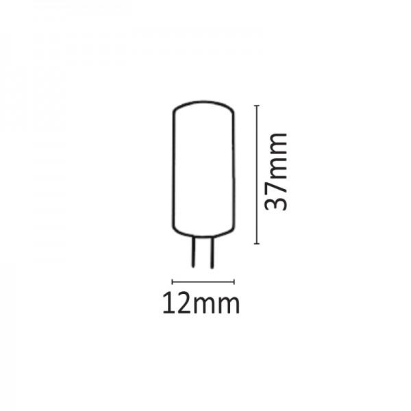G4 1,5watt 6500Κ Ψυχρό Λευκό (7.04.01.06.3)