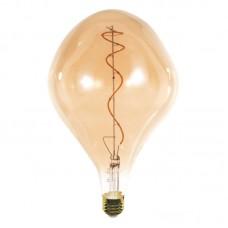 Ε27 LED Filament PS165 4watt Dimmable με μελί κάλυμμα (7.27.04.32.1)