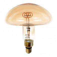Ε27 LED Filament MS200 6watt Dimmable με μελί κάλυμμα (7.27.06.34.1)