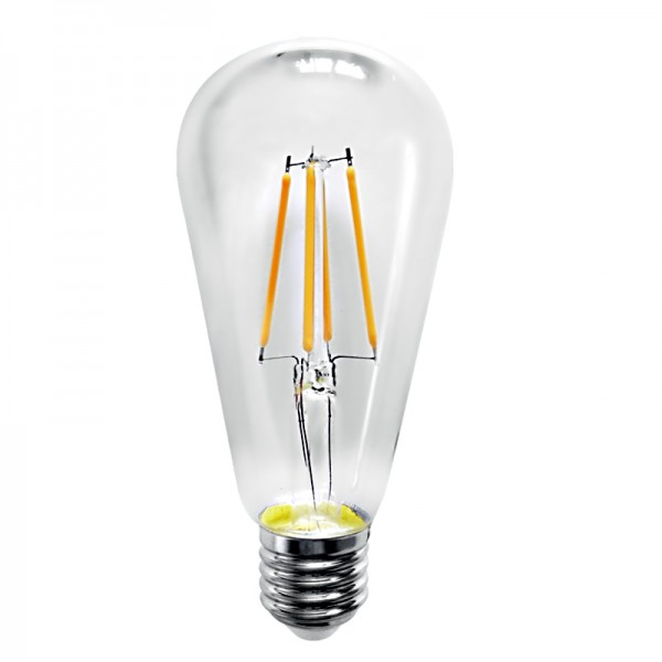 E27 LED Filament ST64 8watt Dimmable