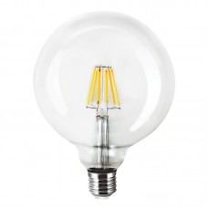 E27 Led Filament G125 6watt Dimmable (7.27.06.15.1)