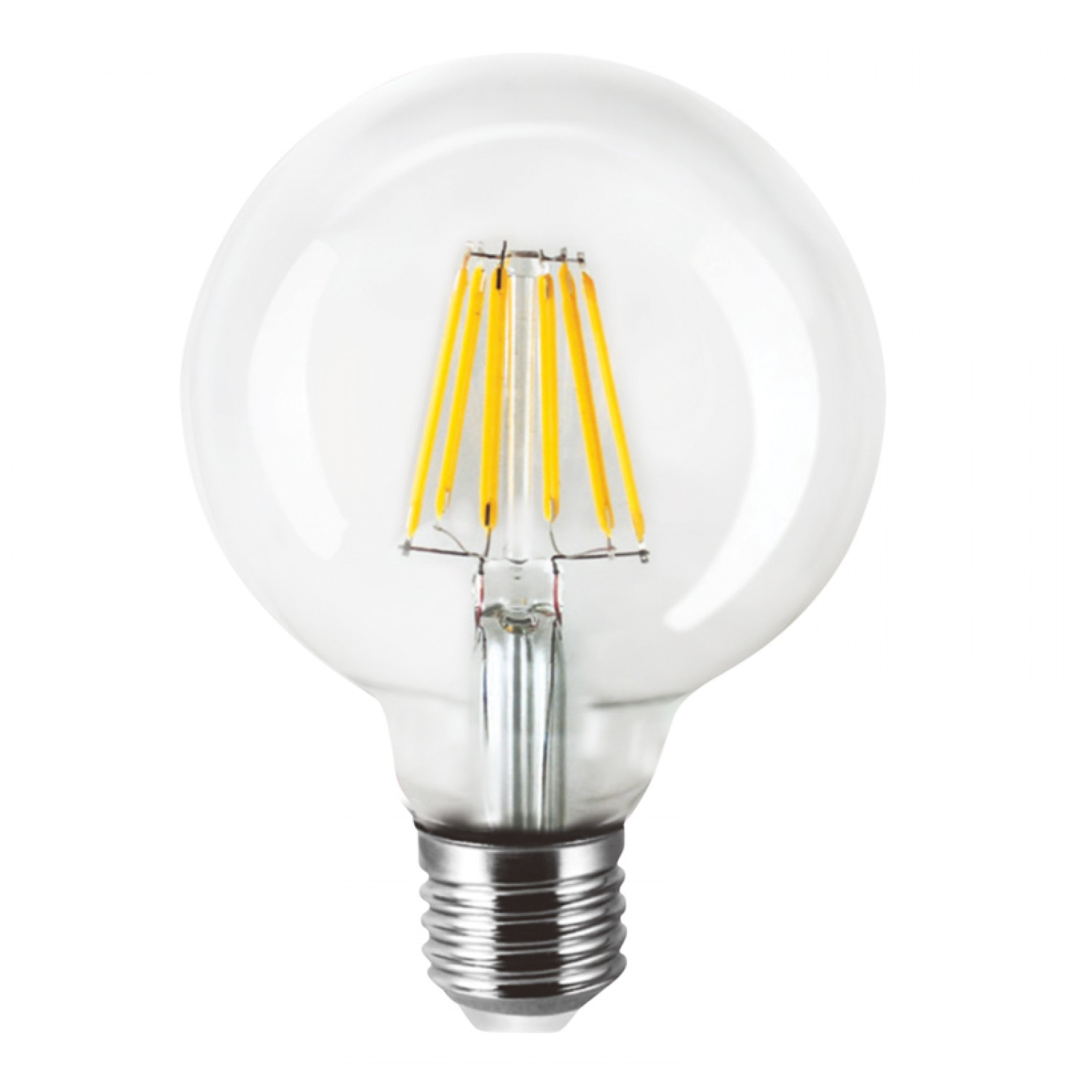 Ε27 LED Filament G80 8watt