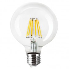 E27 LED Filament G95 8watt Dimmable