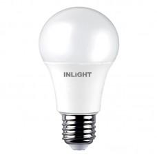 E27 LED A60 10watt 6500K Ψυχρό Λευκό (7.27.10.03.3)
