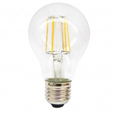 E27 LED Filament A60 6watt Dimmable