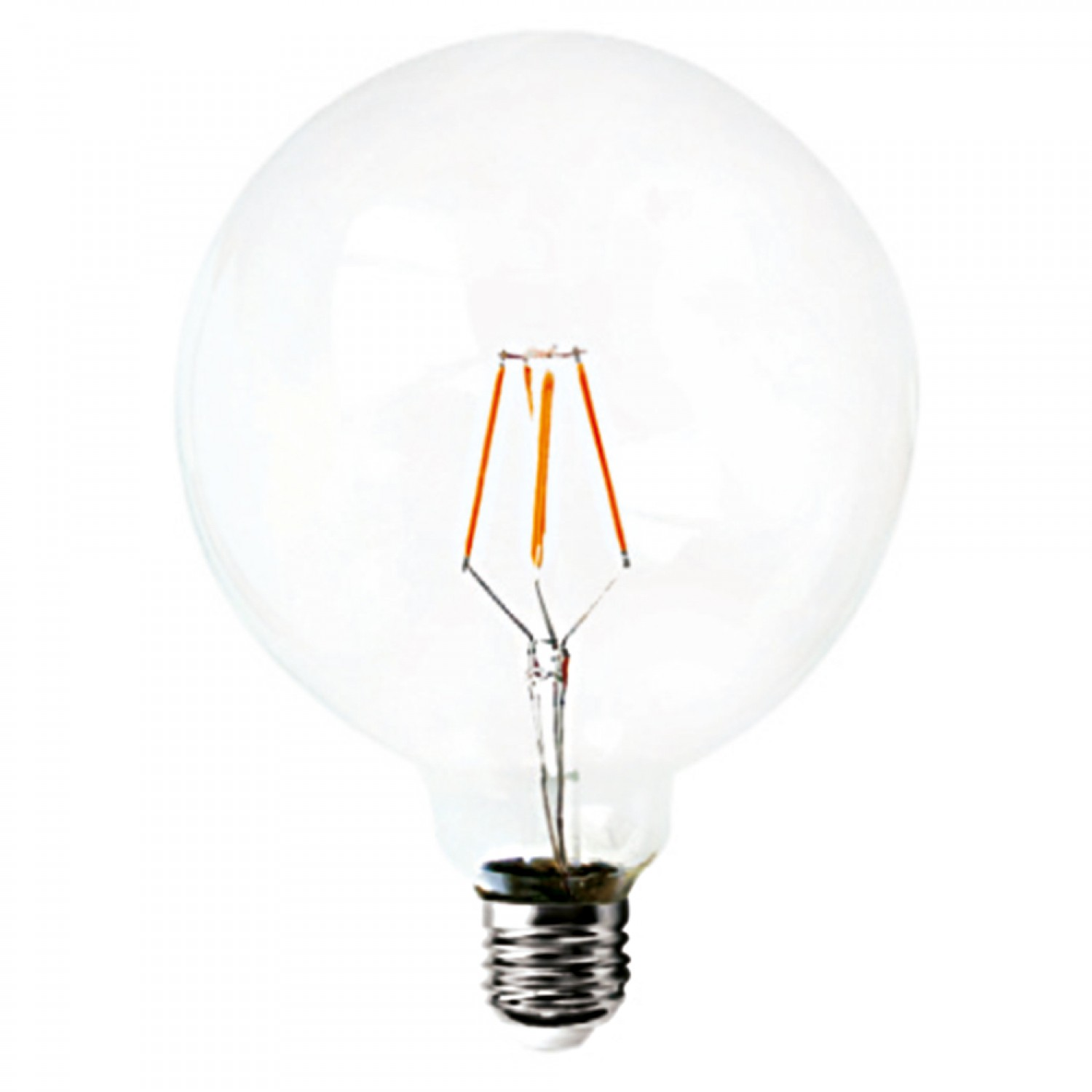 E27 LED Filament G80 6watt Dimmable