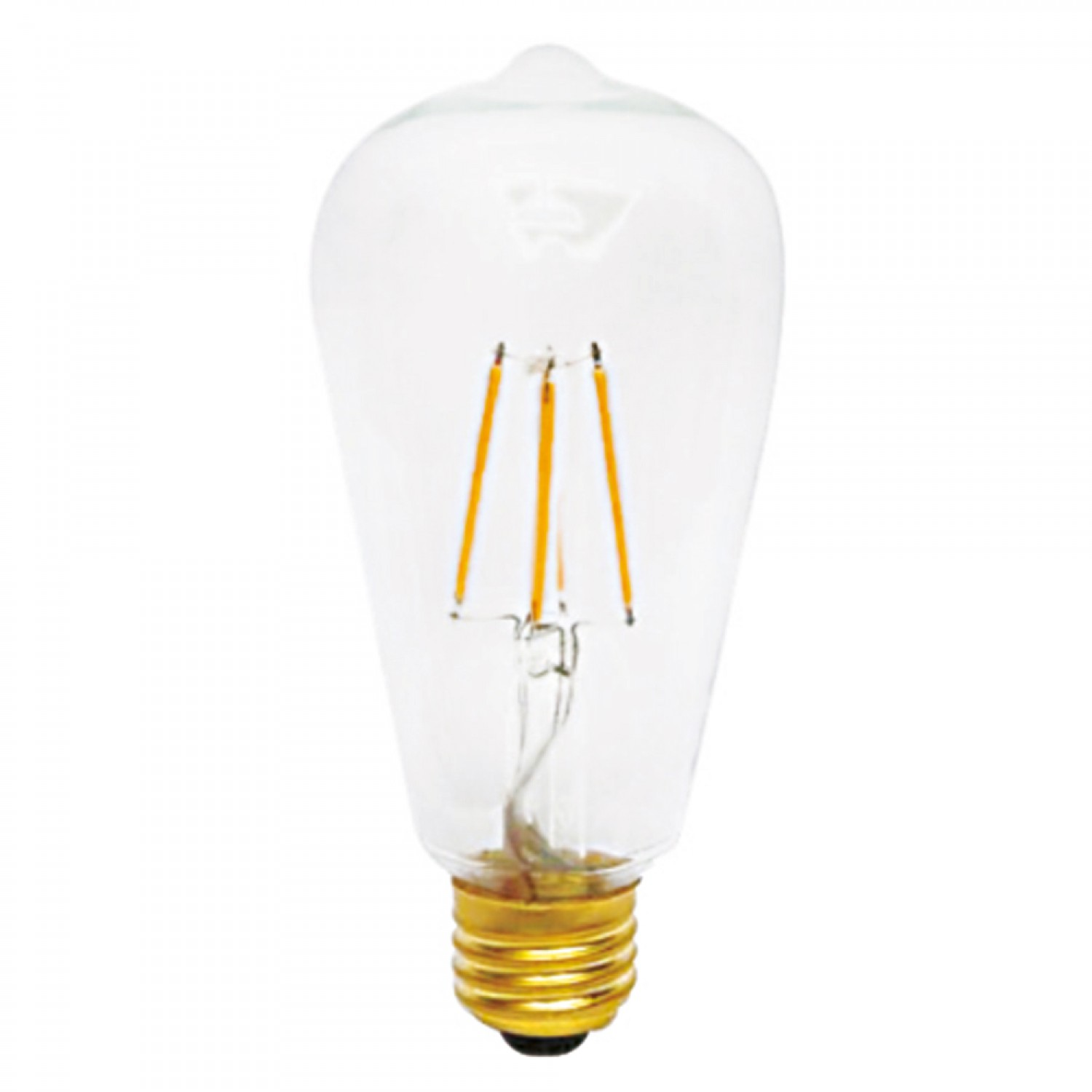 E27 LED Filament ST64 8watt Dimmable