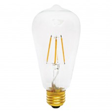 E27 LED Filament ST64 6watt Dimmable