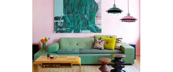 Ροζ και Πράσινο, ένας αναπάντεχος χρωματικός συνδυασμός